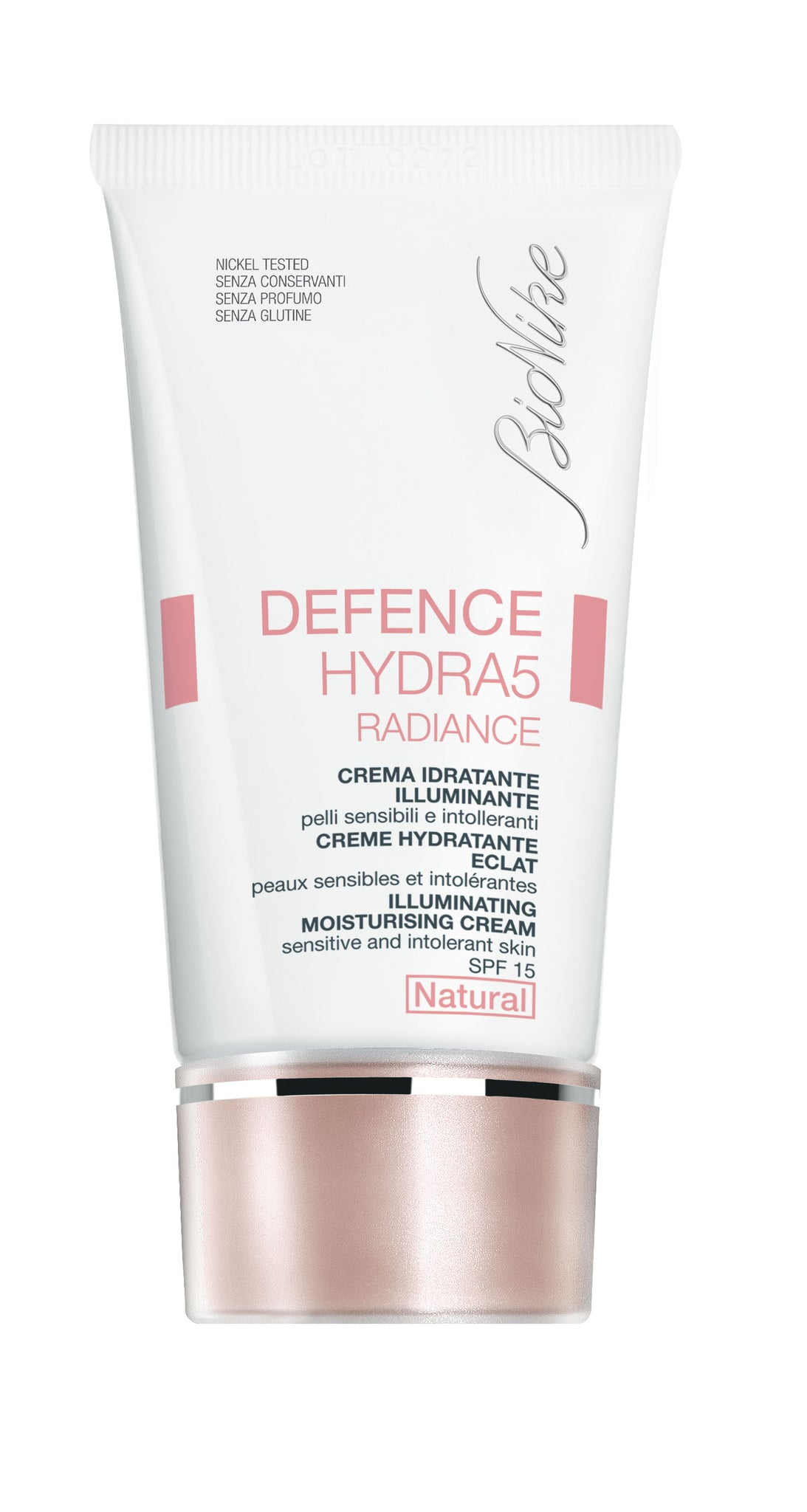 DEFENCE HYDRA5 Radiance BB Cream (Illuminating Moisturising Cream SPF15) - Natural