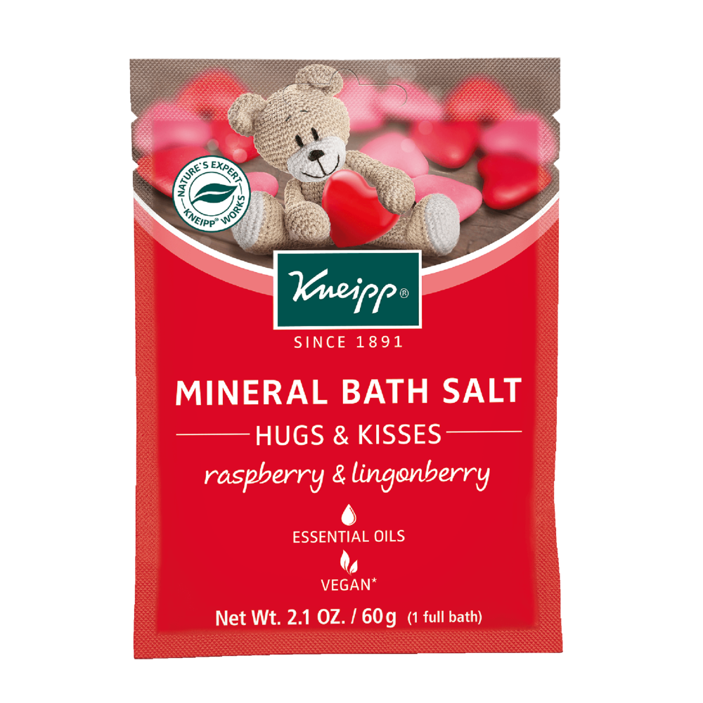 Kneipp Mineral Bath Salt - Hugs & Kisses