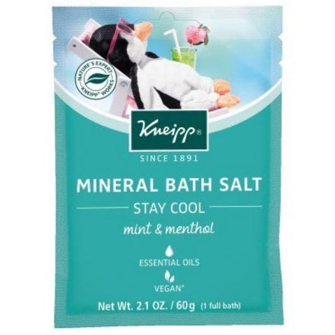 Kneipp Mineral Bath Salt - Stay Cool