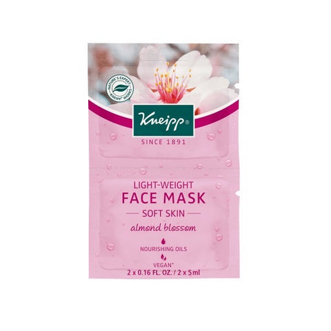 Kneipp Almond Blossom Lightweight Face Mask - Soft Skin