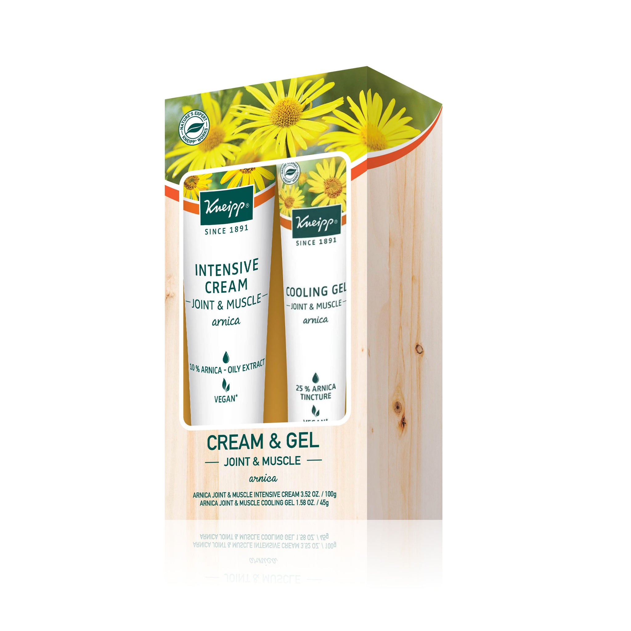 Joint and Muscles Intensive Cream + Cooling Gel (Arnica)