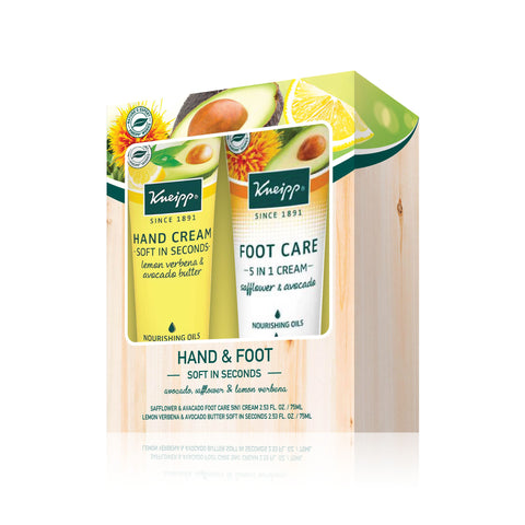 Foot Care 5 in 1 Cream + Hand Cream Soft in Seconds (Avocado)