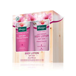 SOFT SKIN Body Lotion + Light Weight Body Lotion (Almond Blossom)
