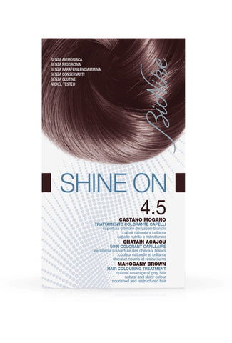 SHINE ON Hair Colouring Treatment (4.5 - Mahogany Brown)