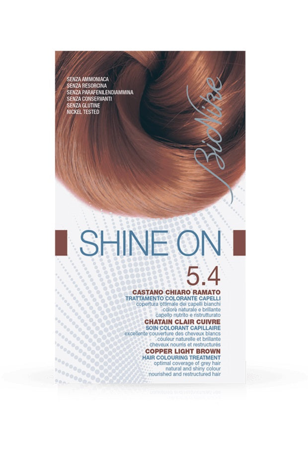 SHINE ON Hair Colouring Treatment (5.4 - Copper Light Brown)