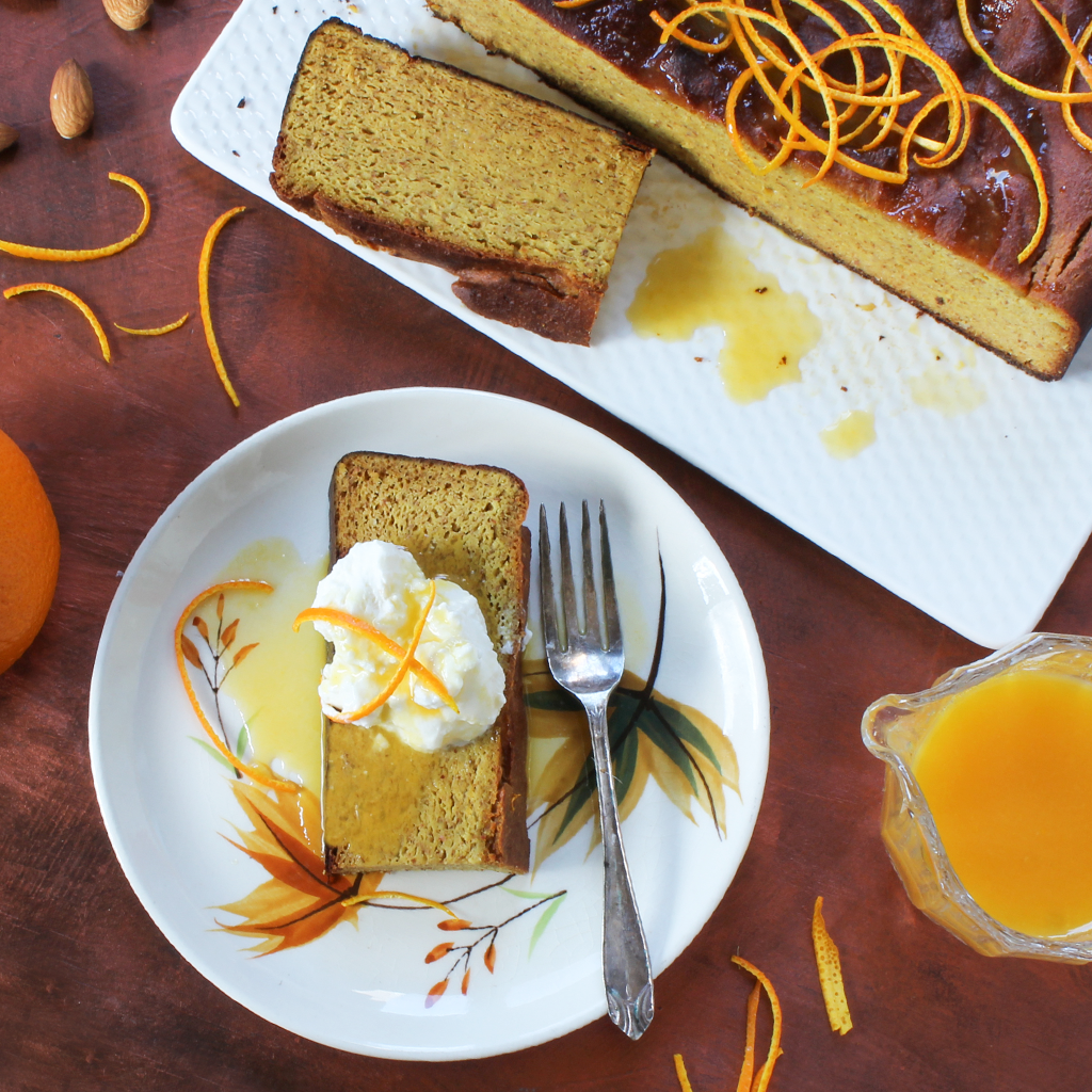 Blender orange and almond syrup cake (SCD & GAPS)