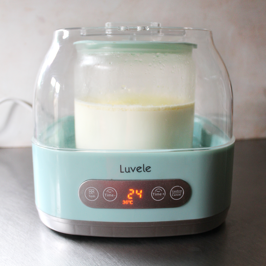 SCD YOGURT FERMENTATION TIME & TEMPERATURE