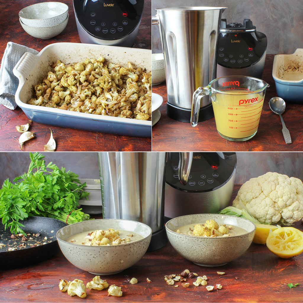 cauliflower soup step by step