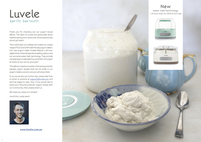 SCD Coconut Yogurt E-Book