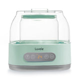 Luvele Pure Yogurt Maker | 4x 500ml Jars SCD & GAPS DIET | LPYM300WUSA | Yoghurt Makers | Luvele US