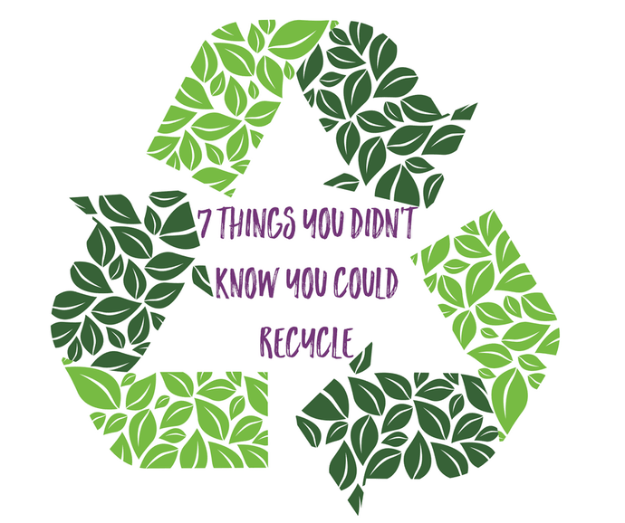 7 things you didn't know you could recycle