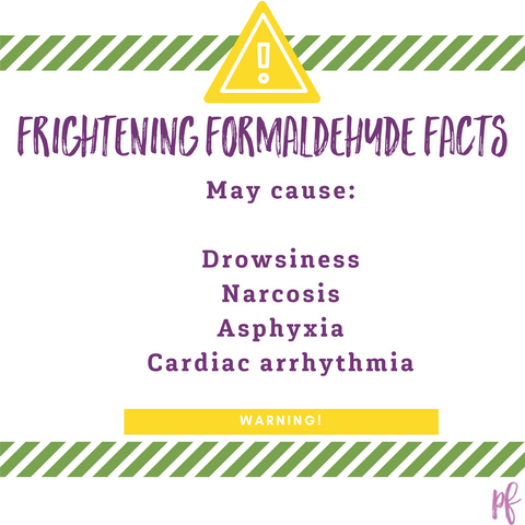Side effects of formaldehyde