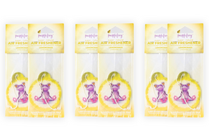 Lemongrass Car Air Freshener - Purple Frog Air Freshener