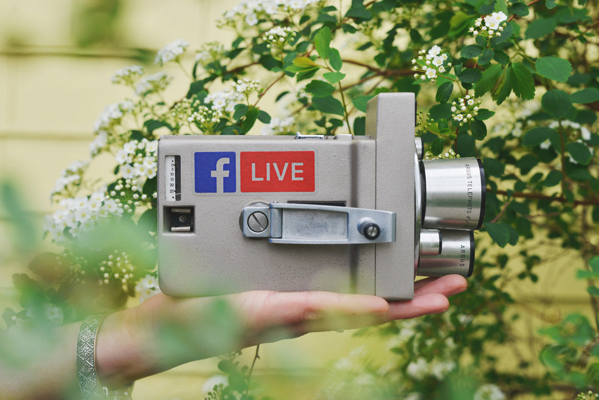 Building The Habit: 5 Things I Learned From 30 Days of Facebook Live