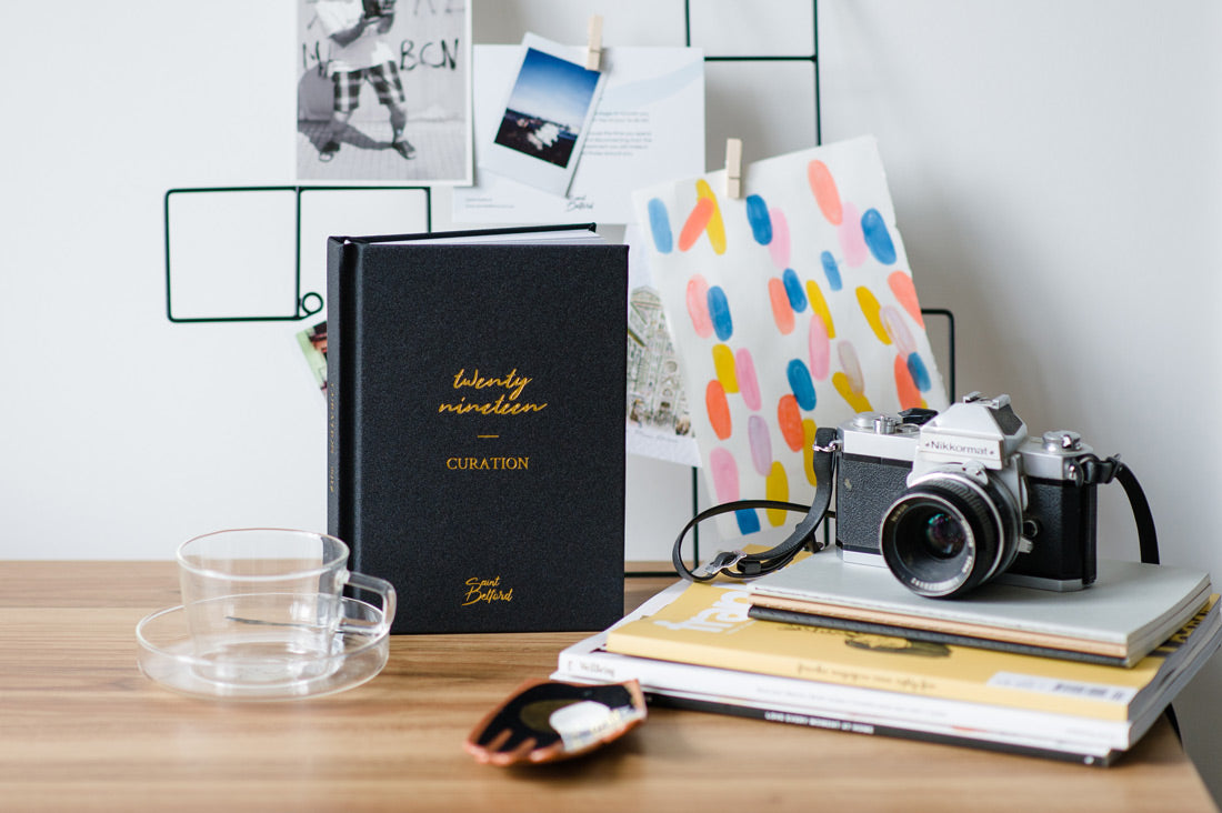 Signature Black Curation 2019 Diary On Desk
