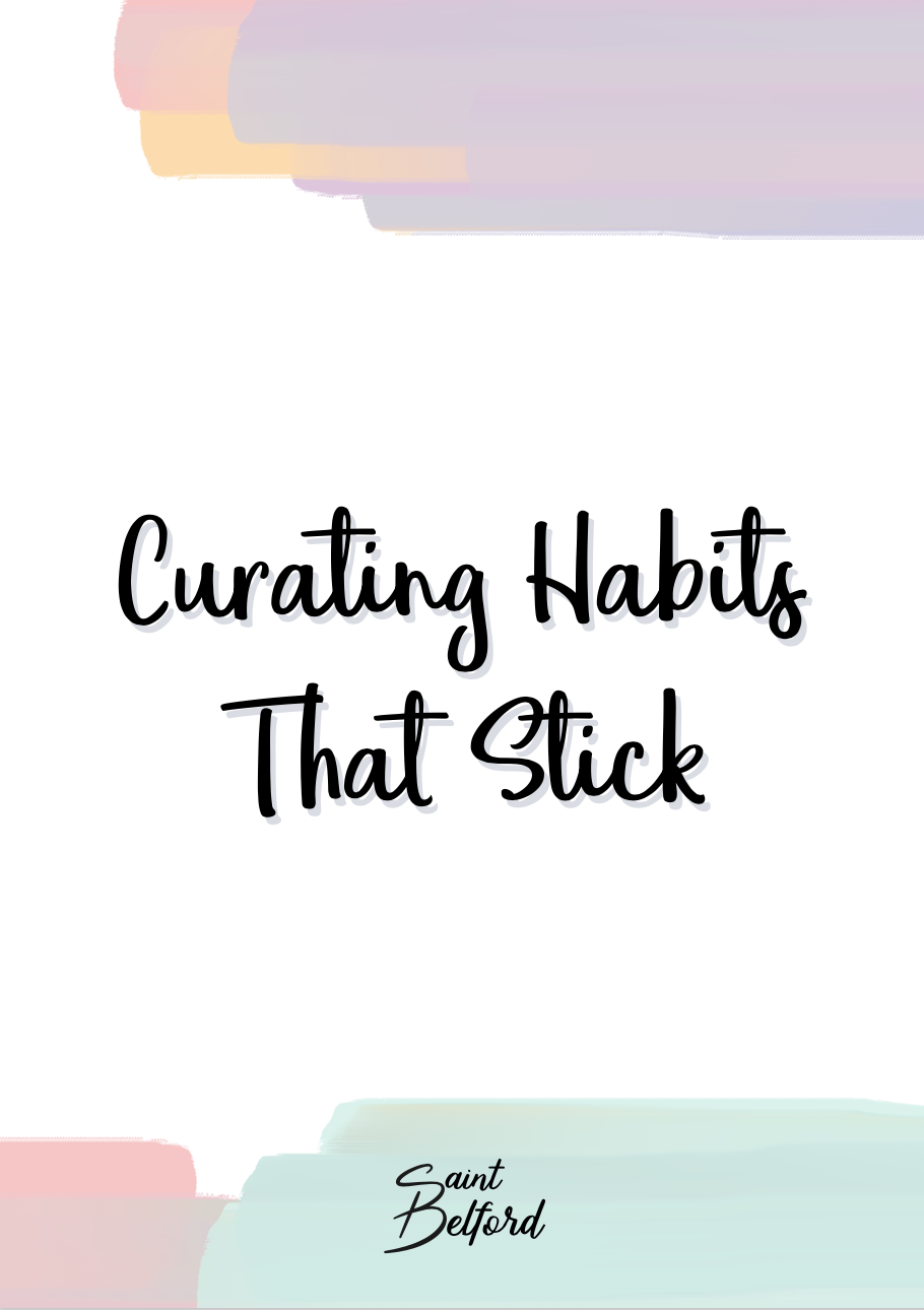 Curating Habits That Stick eBook