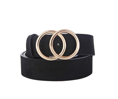 SUDETTE BELT BLACK