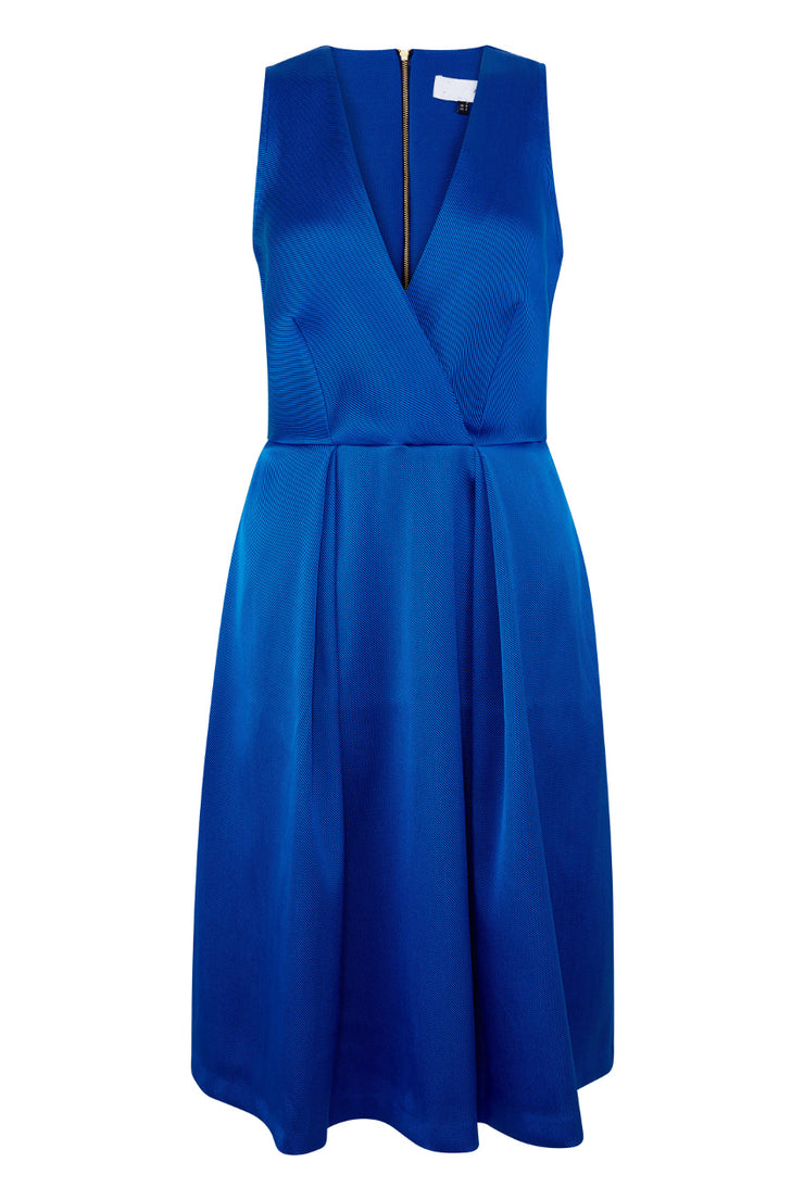 AMAYA MIDI DRESS BLUE