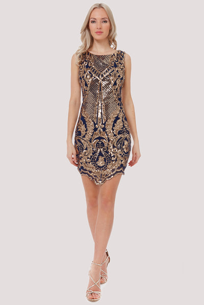 CALLISTO MINI SEQUIN DRESS