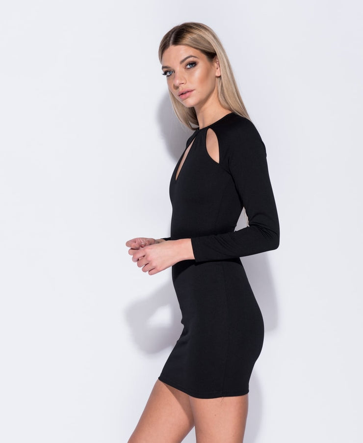 ERRICA BLACK DRESS