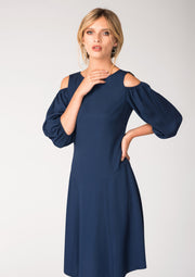 HOLLOWAY NAVY DRESS