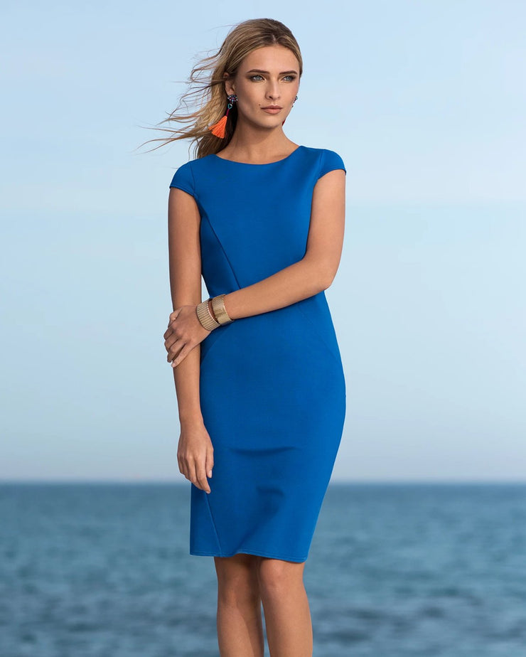 OCEANIC BLUE DRESS