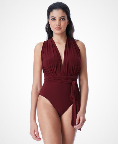 EMBRACE WINE SWIMSUIT