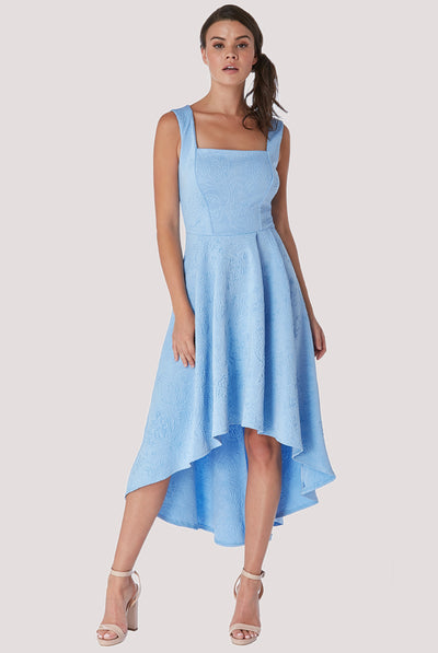 LILLY MIDI DRESS BABY BLUE