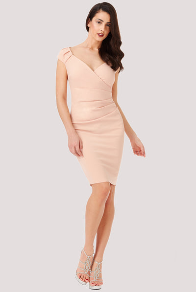 MISS MIDI DRESS NUDE