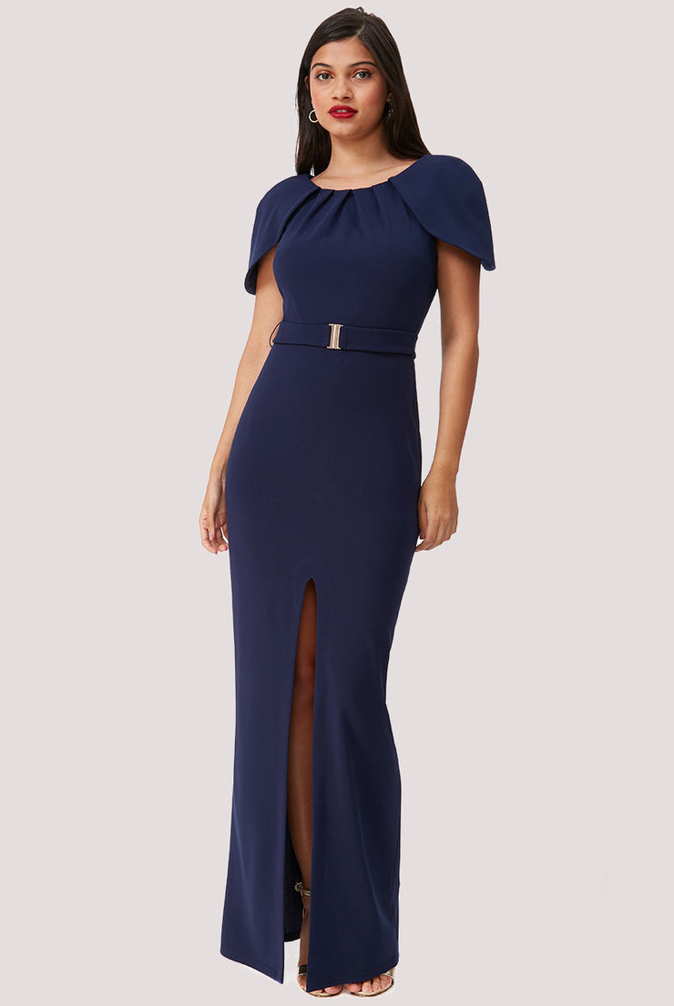 MORGANA MAXI DRESS NAVY
