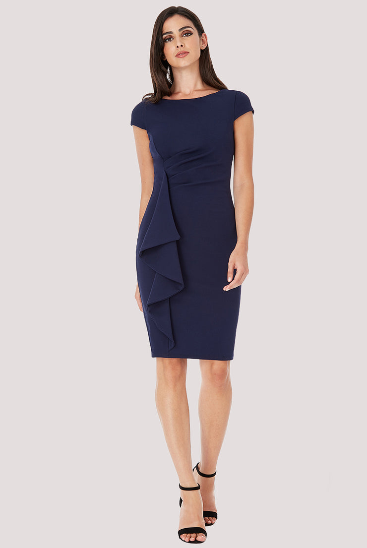 OFFICE PRINCESS DRESS NAVY