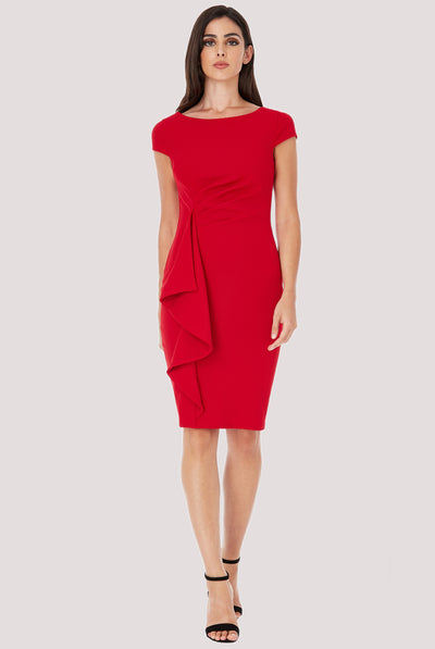 OFFICE PRINCESS MIDI RED