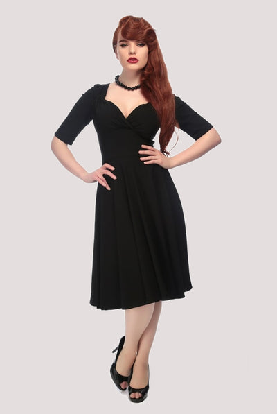 TRIXIE DOLL BLACK DRESS