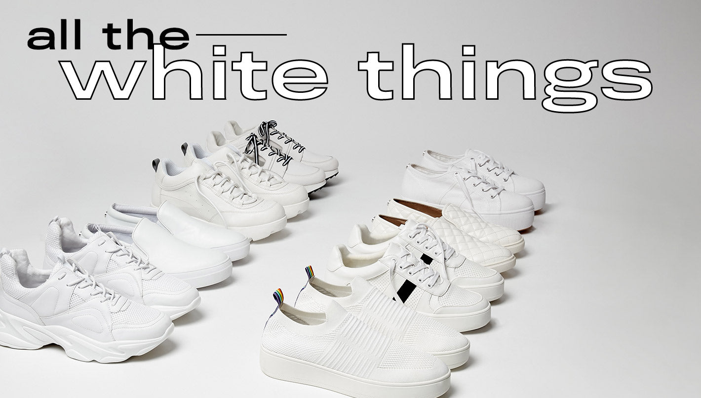 all the white things
