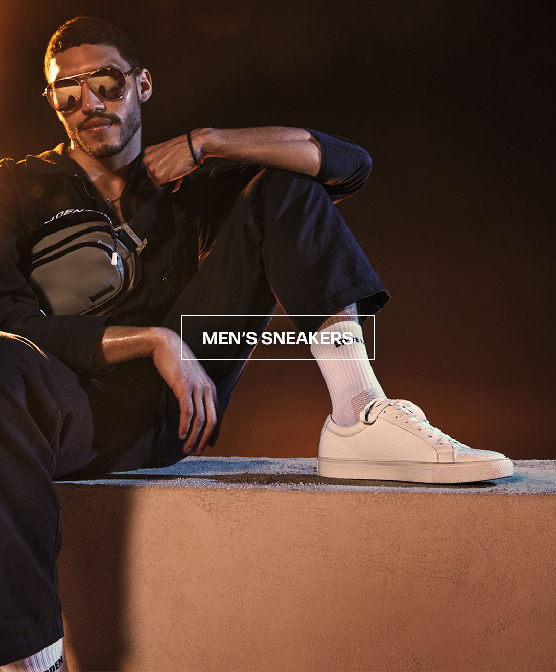 Men's Sneakers Banner Mobile