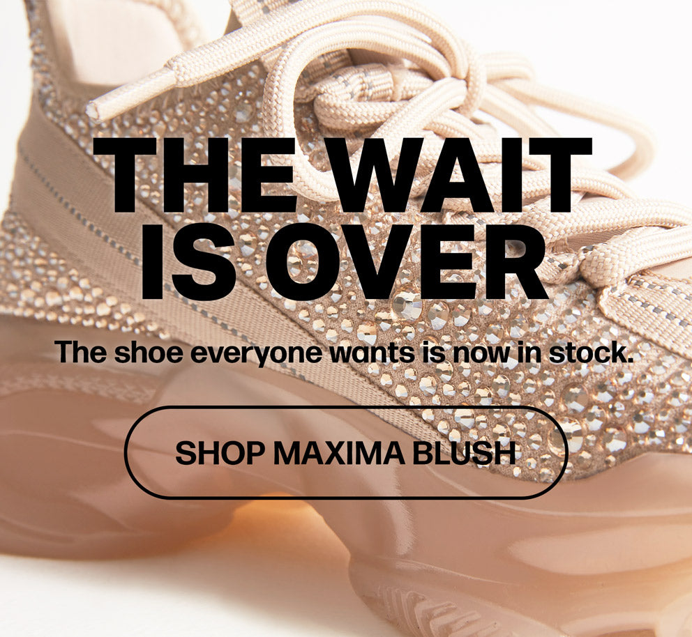 The shoe everyone wants is now in stock. Shop Maxima Blush