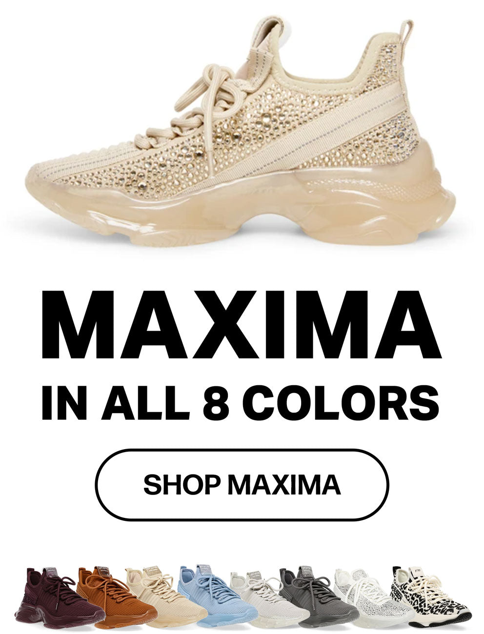 MAXIMA IN ALL 8 COLORS BANNERS- SHOP MAXIMA