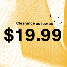 Clearance as low as $19.99