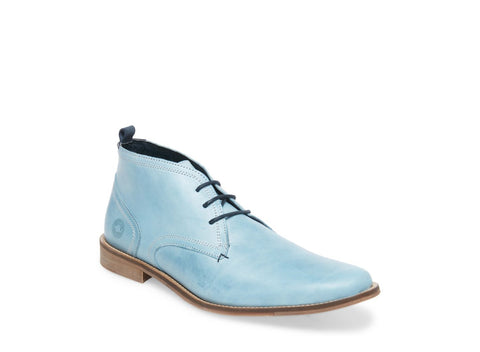 VAN BABY BLUE LEATHER
