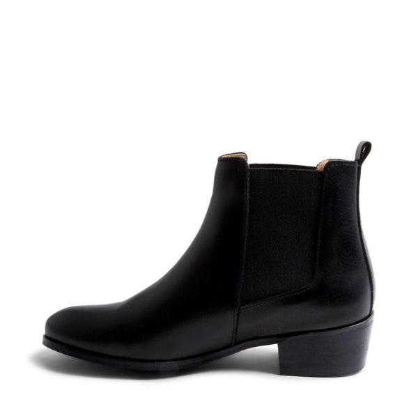 DOVER BLACK LEATHER - Steve Madden