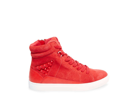 IRON RED SUEDE