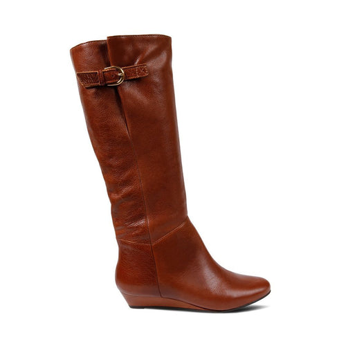 INTYCE COGNAC LEATHER - Steve Madden