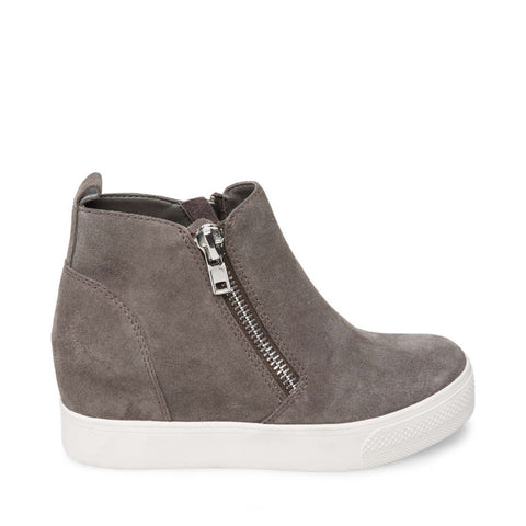 WEDGIE GREY SUEDE