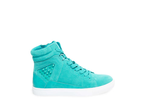 IRON TURQUOISE SUEDE