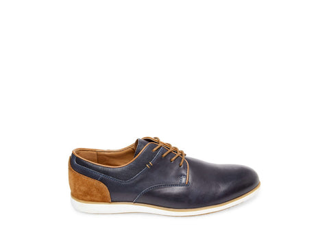 DIRK NAVY LEATHER