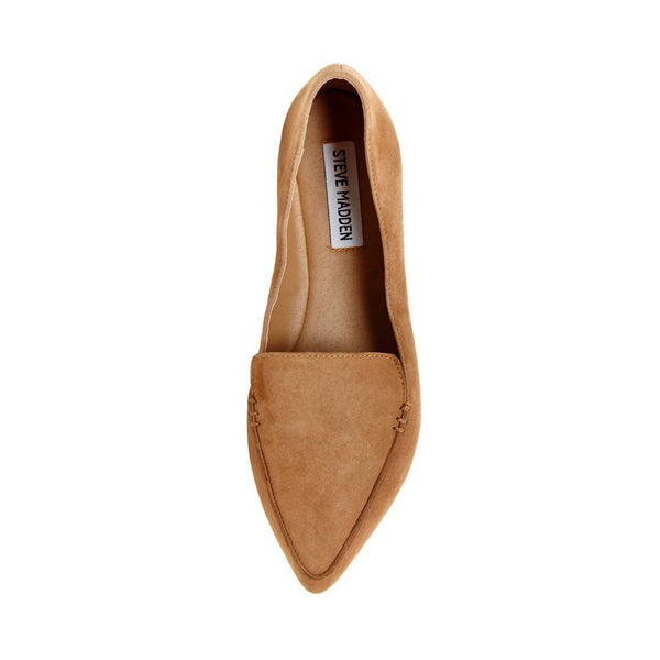 3340a66e235 FEATHER CAMEL SUEDE