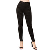 HIGH RISE SKINNY JEAN  BLACK