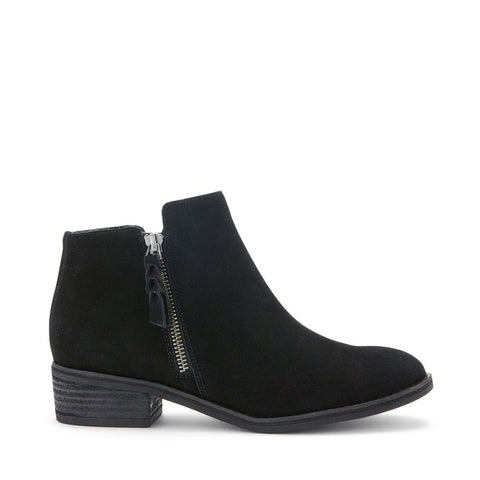 LIAM WATERPROOF BLACK SUEDE