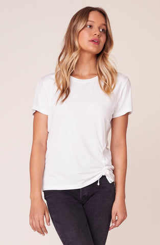 Cinch Me Ruched Side T-Shirt