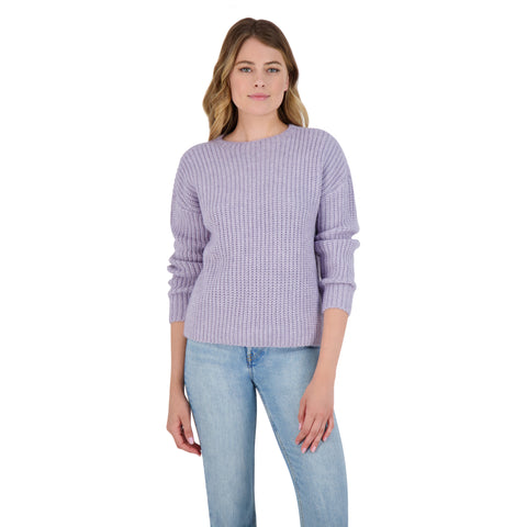 KNIT'S A LOOK SWEATER PALE LAVENDER